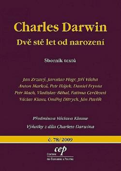 Charles Darwin: dvě stě let od narození obálka knihy