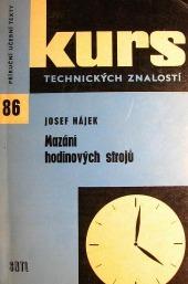 Mazání hodinových strojů
