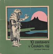 10 zastavení v Českém ráji obálka knihy