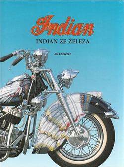 Indian ze železa obálka knihy