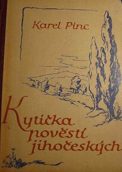 Kytička pověstí jihočeských obálka knihy