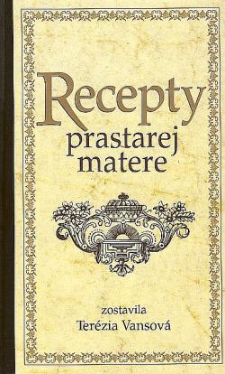 Recepty prastarej matere obálka knihy