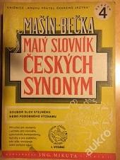 Malý slovník českých synonym