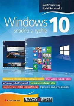 Windows 10 – snadno a rychle obálka knihy