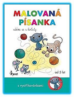 Malovaná písanka: učíme se s koťaty obálka knihy
