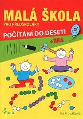 Malá škola pro předškoláky - počítání do deseti obálka knihy