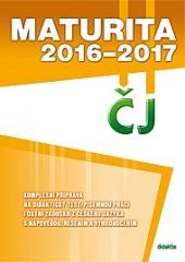 Maturita 2016-2017 z českého jazyka a literatury obálka knihy