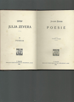 Poesie obálka knihy