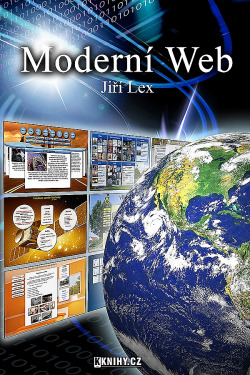 Moderní web obálka knihy