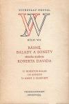 Básně, balady a sonety věčného studenta Roberta Davida