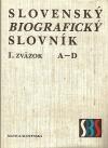 Slovenský biografický slovník I. A – D