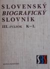 Slovenský biografický slovník III. K – L