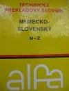 Technický prekladový slovník Nemecko - Slovenský M-Z