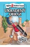 Agáta a doktor Lupa - Ukradený obraz obálka knihy