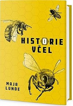 Historie včel obálka knihy