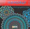 Mandaly antistres - malování pro pozitivní energii (červená)