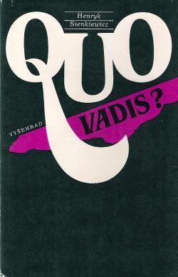 Quo vadis? obálka knihy
