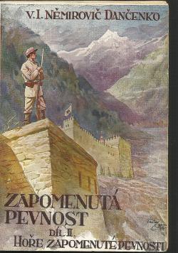 Hoře zapomenuté pevnosti obálka knihy