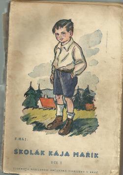 Školák Kája Mařík 1. díl obálka knihy