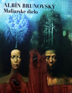 Albín Brunovský - maliarske dielo obálka knihy