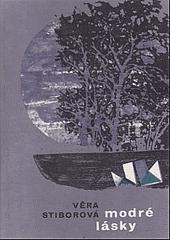 Modré lásky obálka knihy