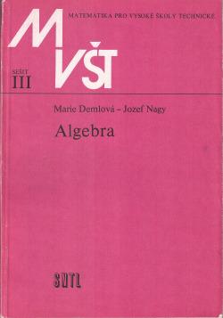 Algebra obálka knihy