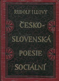 Československá poesie sociální IV. obálka knihy