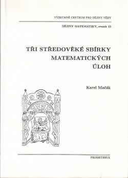 Tři středověké sbírky matematických úloh obálka knihy