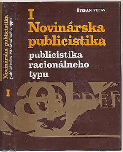Novinárska publicistika I. obálka knihy