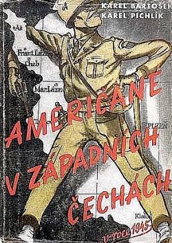 Američané v západních Čechách v roce 1945 obálka knihy