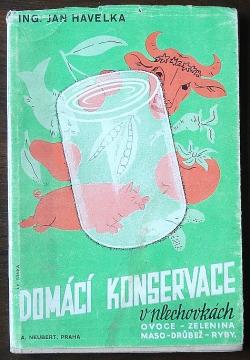 Domácí konservace v plechovkách obálka knihy