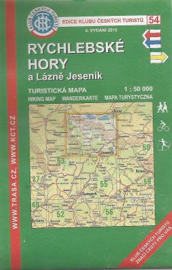Rychlebské hory a Lázně Jeseník obálka knihy