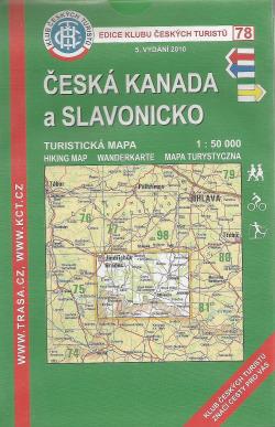Česká Kanada a Slavonicko obálka knihy