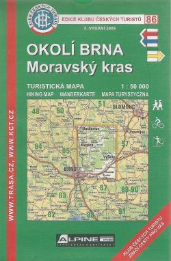 Okolí Brna - Moravský kras obálka knihy