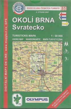 Okolí Brna - Svratecko obálka knihy