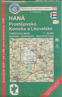 Haná - Prostějovsko, Konicko a Litovelsko obálka knihy