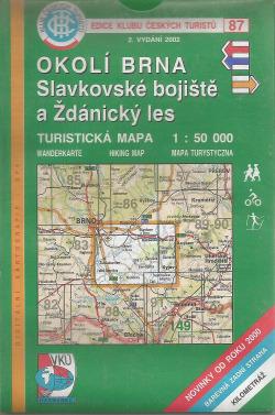 Okolí Brna - Slavkovské bojiště a Ždánický les obálka knihy
