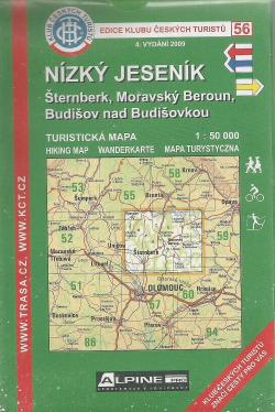 Nízký Jeseník - Šternberk, Moravský Beroun, Budišov nad Budišovkou obálka knihy