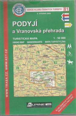 Podyjí a Vranovská přehrada obálka knihy