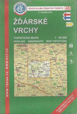 Žďárské vrchy obálka knihy
