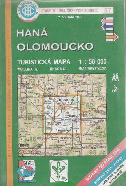 Haná - Olomoucko obálka knihy