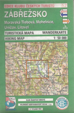 Zábřežsko - Moravská Třebová, Mohelnice, Uničov, Litovel obálka knihy