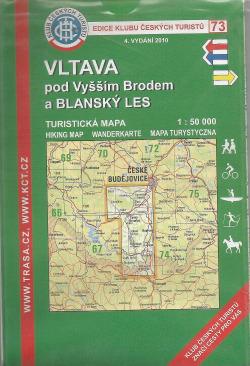 Vltava pod Vyšším Brodem a Blanský les