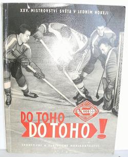 Do toho! Do toho! XXV. mistrovství světa v ledním hokeji 1959 v Praze obálka knihy
