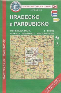 Hradecko a Pardubicko obálka knihy