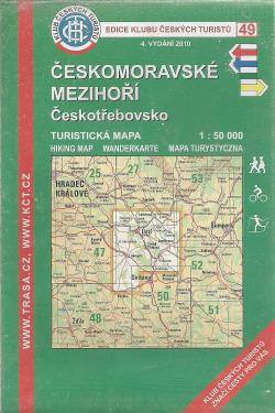 Českomoravské mezihoří - Českotřebovsko obálka knihy