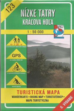 Nízke Tatry - Kráľova Hoľa obálka knihy