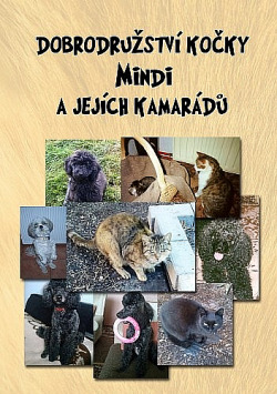 Dobrodružství kočky Mindi a jejích kamarádů obálka knihy