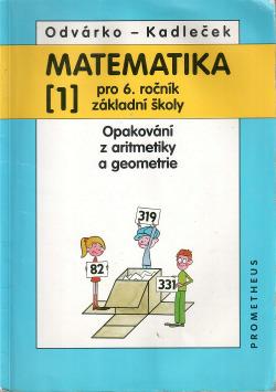 Matematika pro 6. ročník základní školy, 1. díl obálka knihy