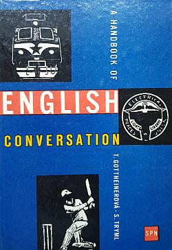 Handbook of english conversation obálka knihy